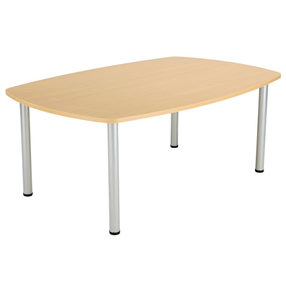 Jemini 1800mm Nova Oak Boardroom Table