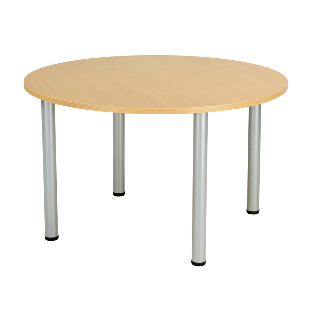 Jemini D1200mm Nova Oak Circular Meeting Table