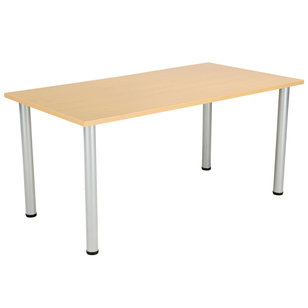 Jemini 1600mm Nova Oak Rectangular Meeting Table