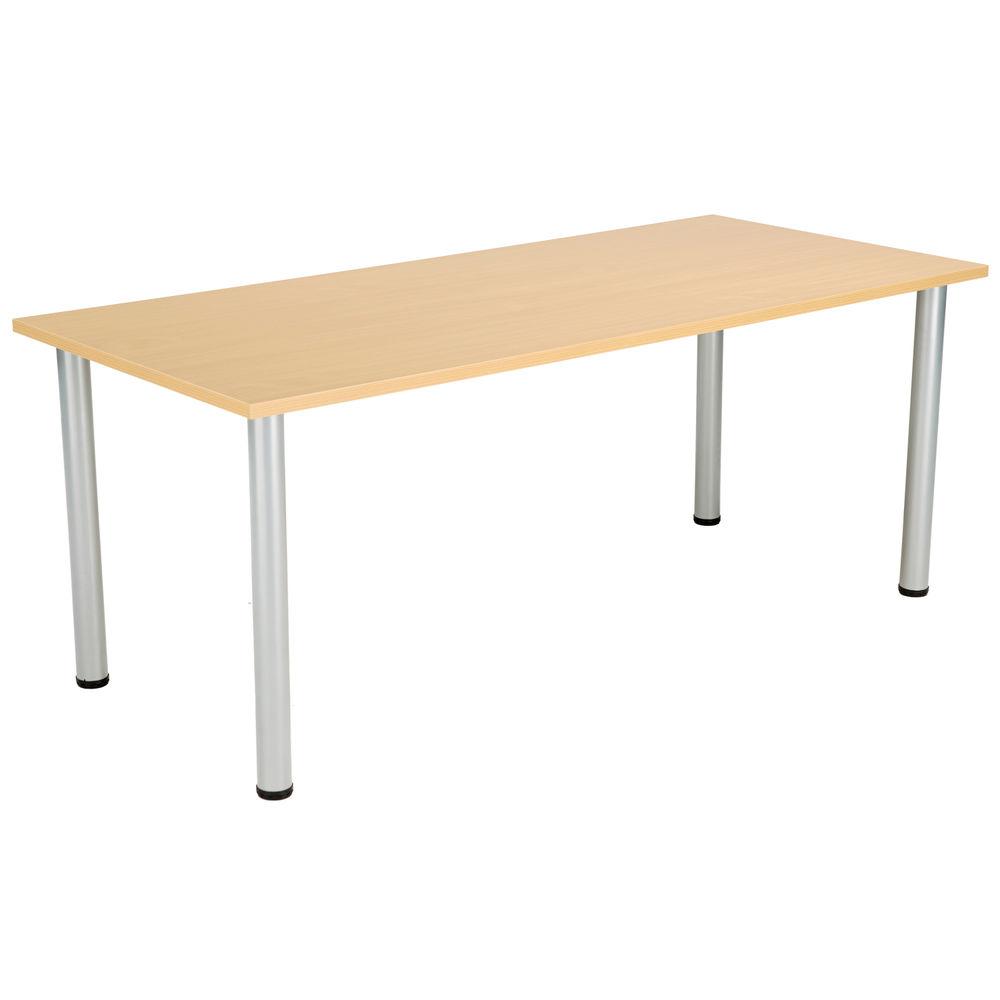Jemini 1800mm Nova Oak Rectangular Meeting Table