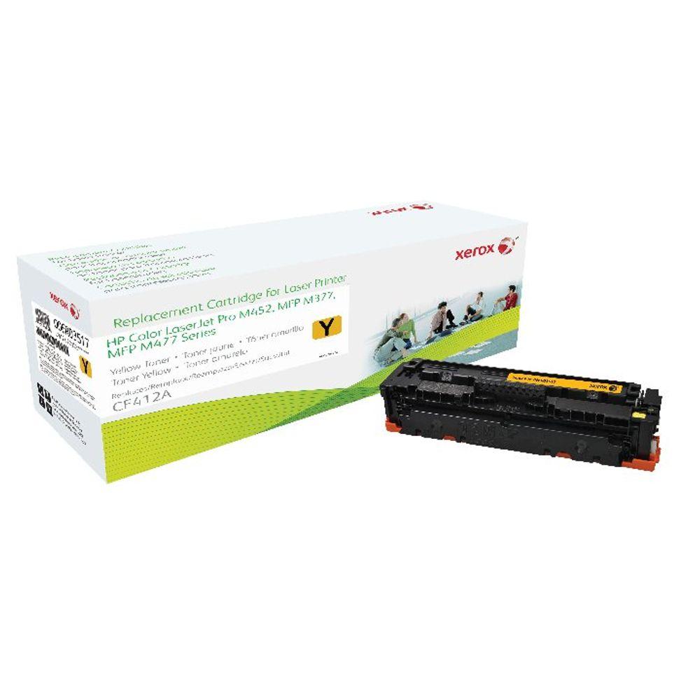 Xerox CF412A Yellow Laser Toner Cartridge - 006R03517