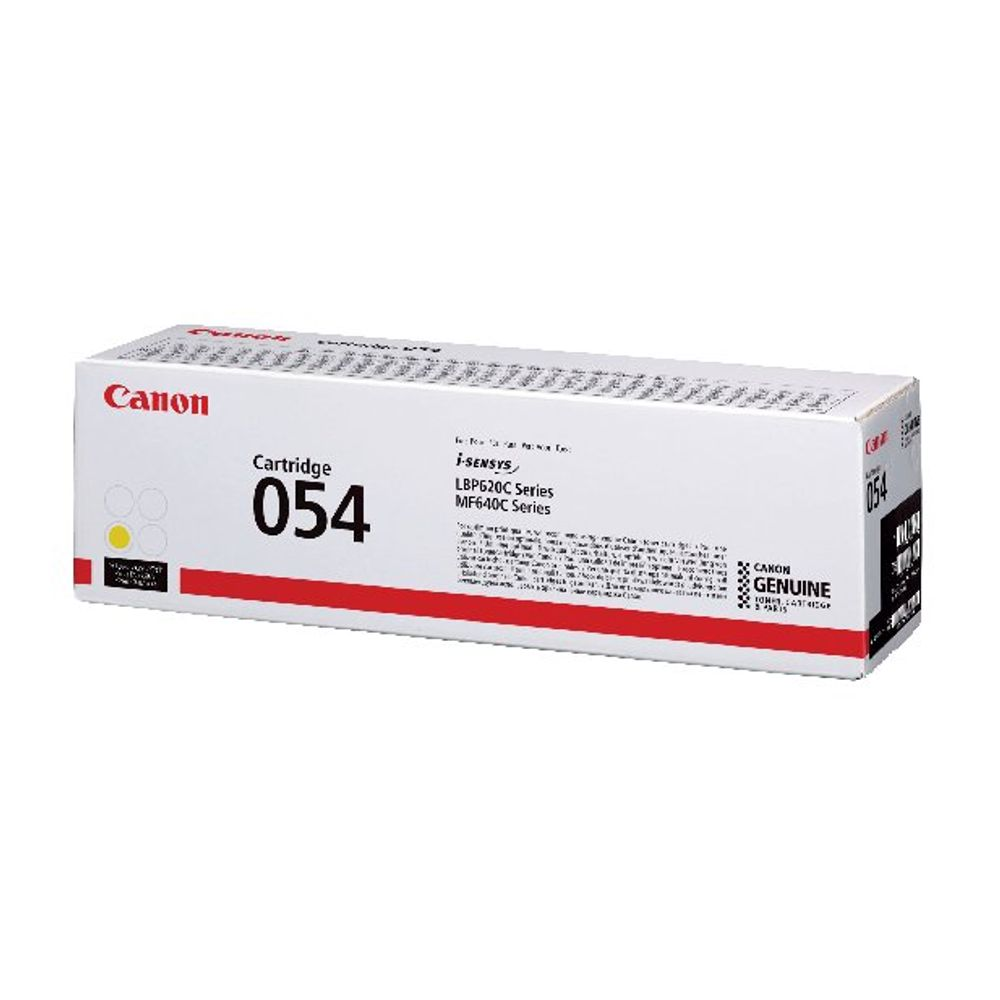 Canon 054 Yellow Toner Cartridge - 3021C002