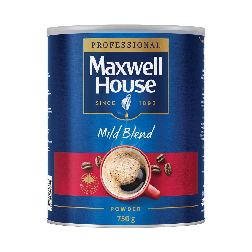 Maxwell House 750g Mild Blend Coffee Powder - 64997