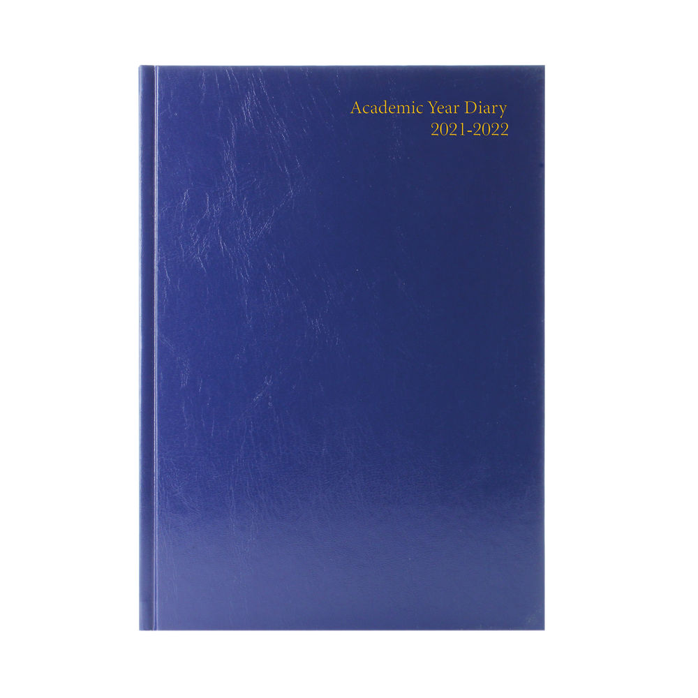 Academic Diary Day Per Page A5 Blue 2021-2022 KF1A5ABU21