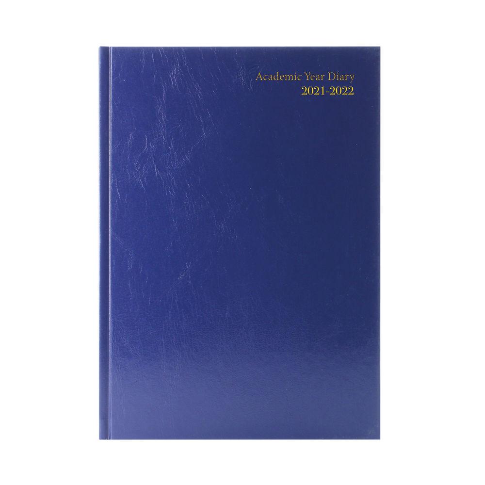 Academic Diary Week To View A5 Blue 2021-2022 KF3A5ABU21