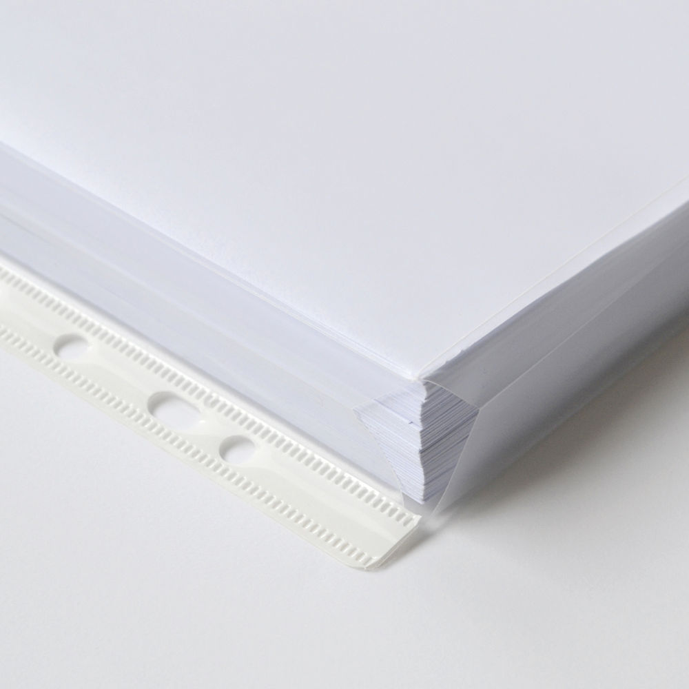 Elba Expanding upto 20mm A4 Punched Pockets, 120 Micron - Pack of 10 - 100080753