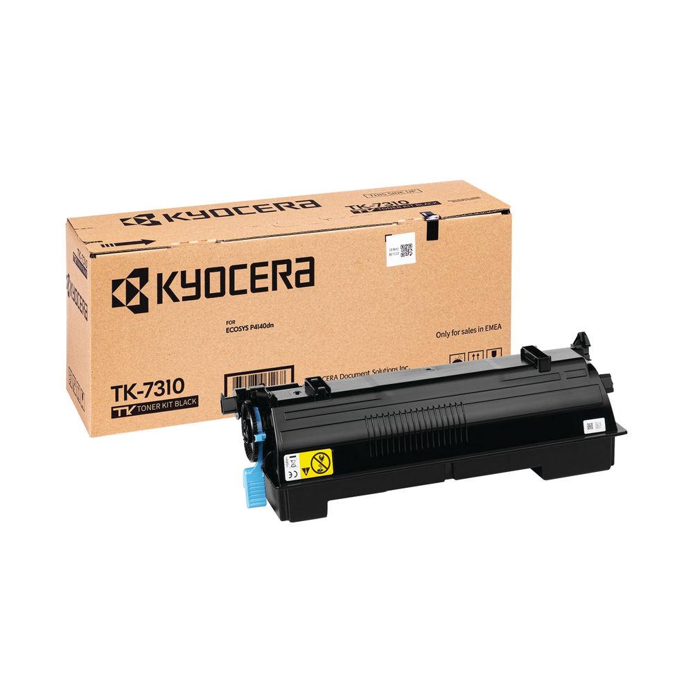 Kyocera Black TK-7310 Toner Cassette Ecosys P4140DN 1T02Y40NL0