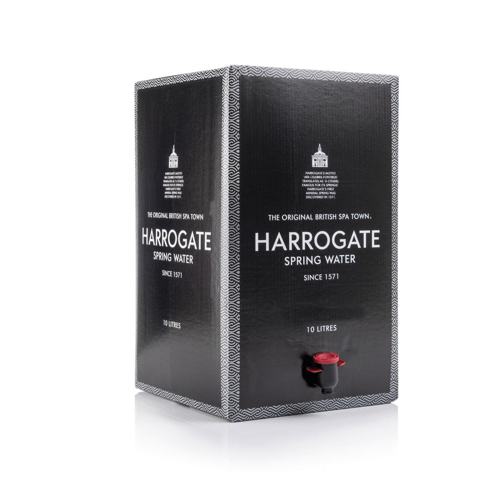 Harrogate Spa Bag in Box Still Spring Water - 10 Litre - BOX1015