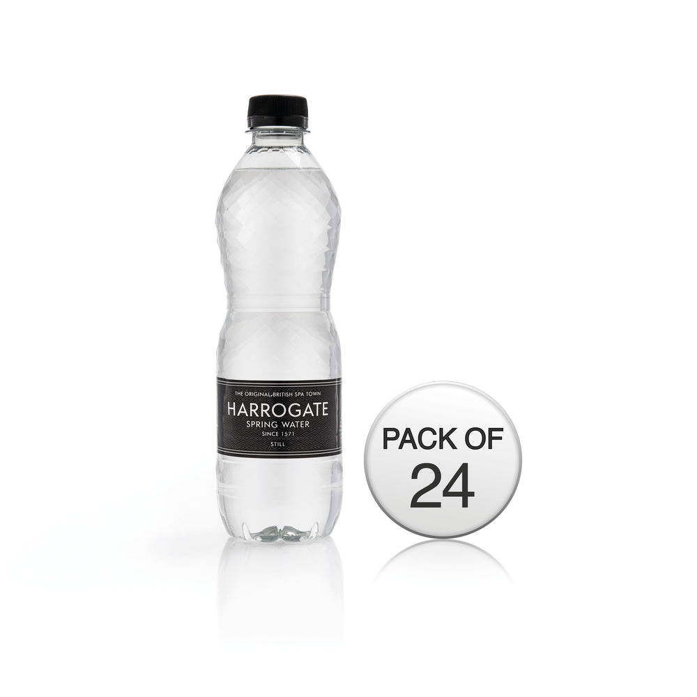 Harrogate Spa - Still Bottled Spring Water 500ml - Pack of 24 - HSW35105