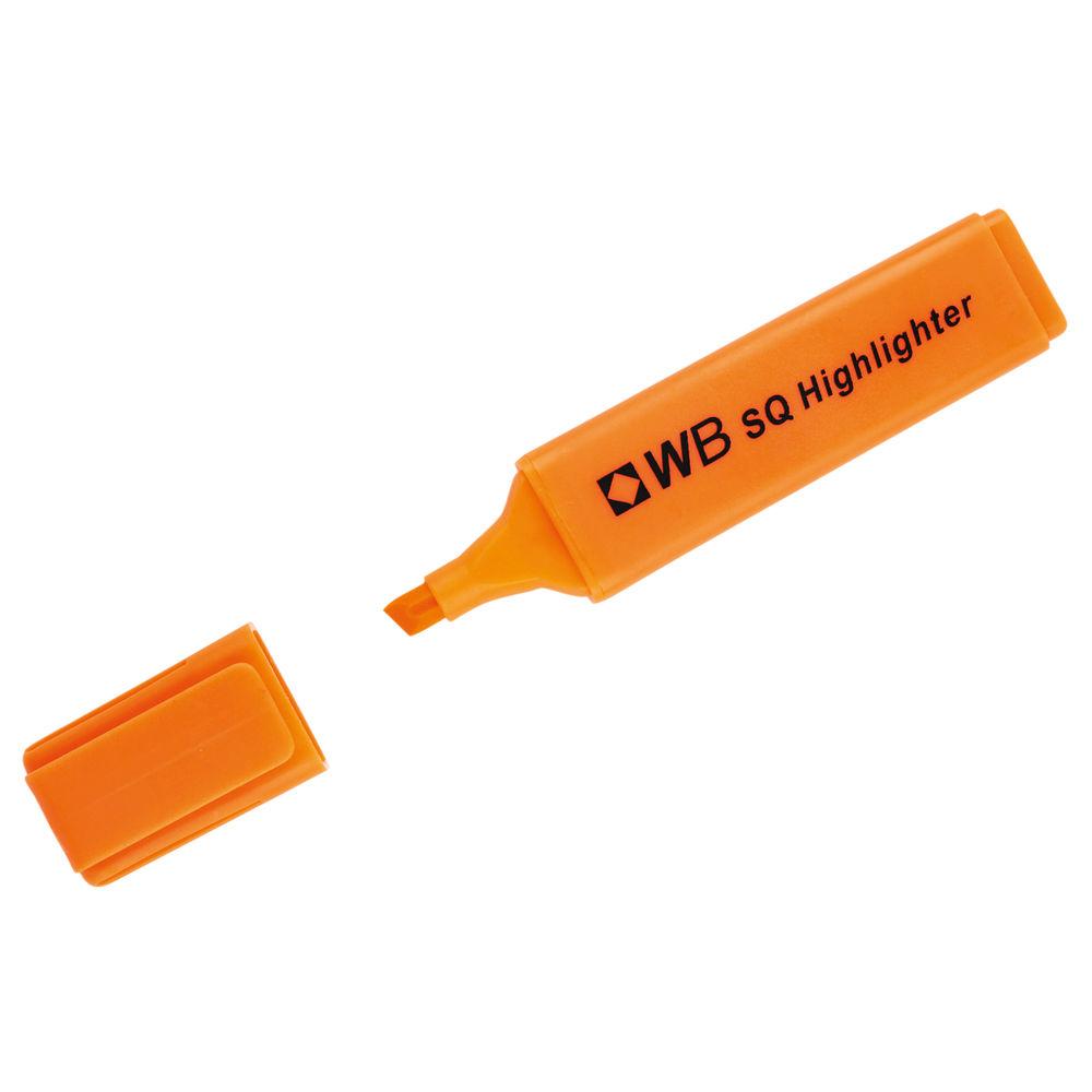 Orange Hi-Glo Highlighter Pens, Pack of 10 - HI2717 819135