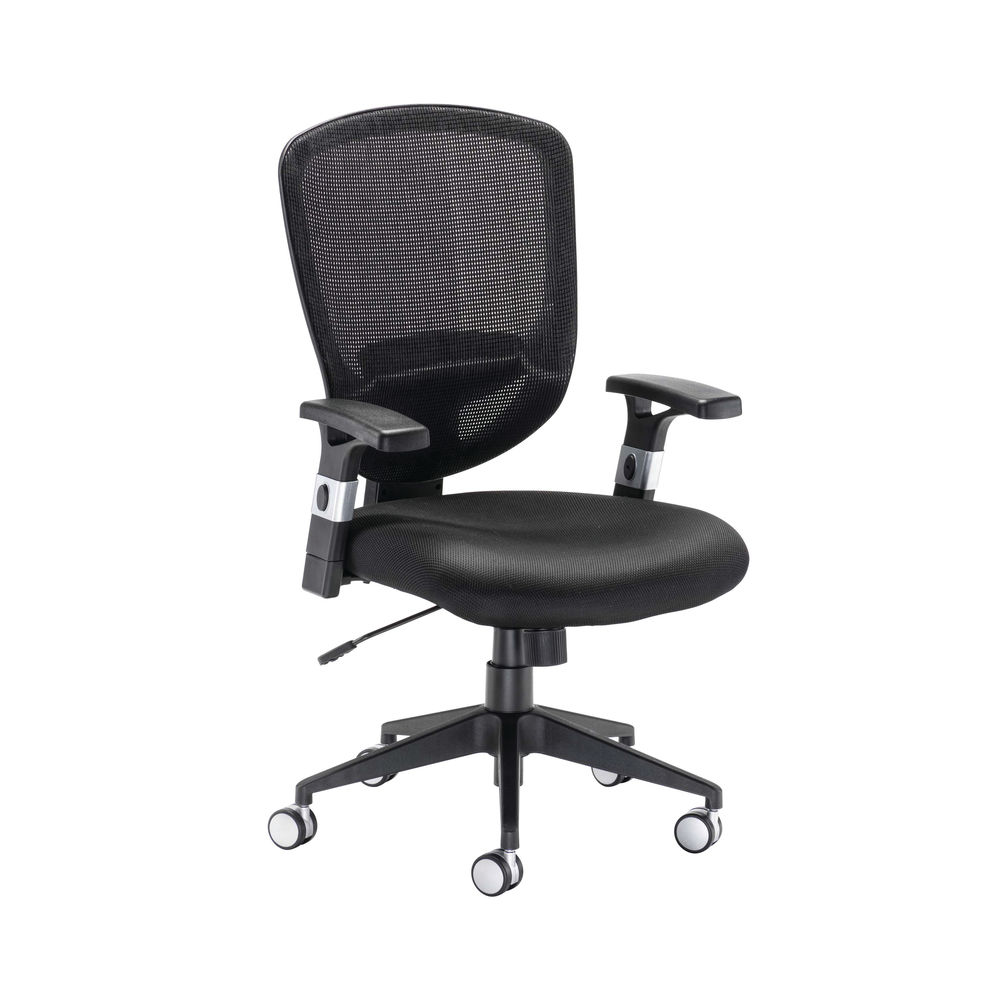 Arista Lexi Black High Back Mesh Office Chair