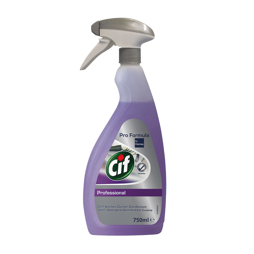 Cif Professional 750ml 2in 1 Cleaner and Disinfectant - 7517920