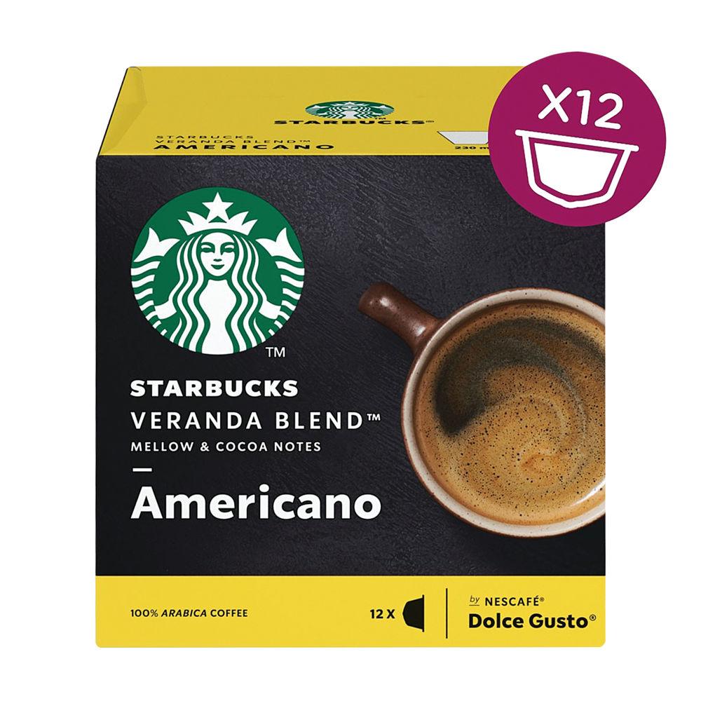 Nescafe Dolce Gusto Starbucks Americano Veranda Coffee Capsules Pk 36 - 12397698