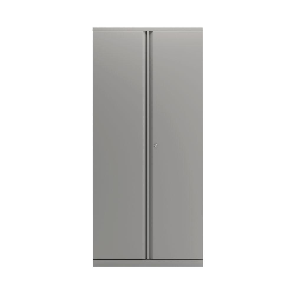 Bisley 1970mm Goose Grey 2 Door Empty Cupboard - BY78715