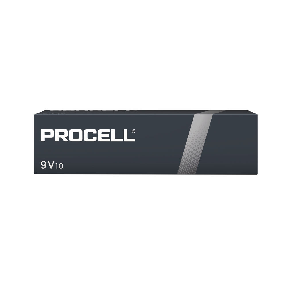 Duracell Procell 9V Batteries (Pack of 10) 5007608