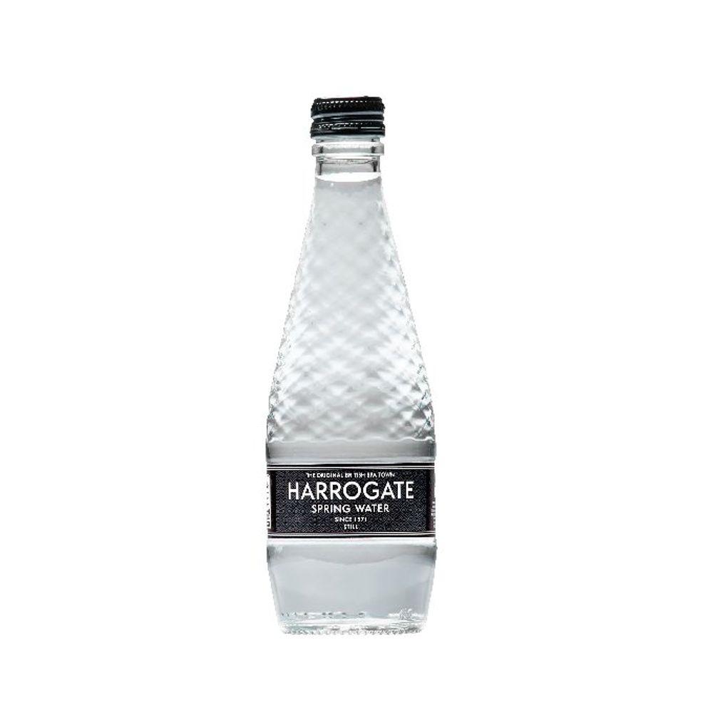 Harrogate Spa - Still Bottled Spring Water 330ml - Pack of 24 - G33024 1S