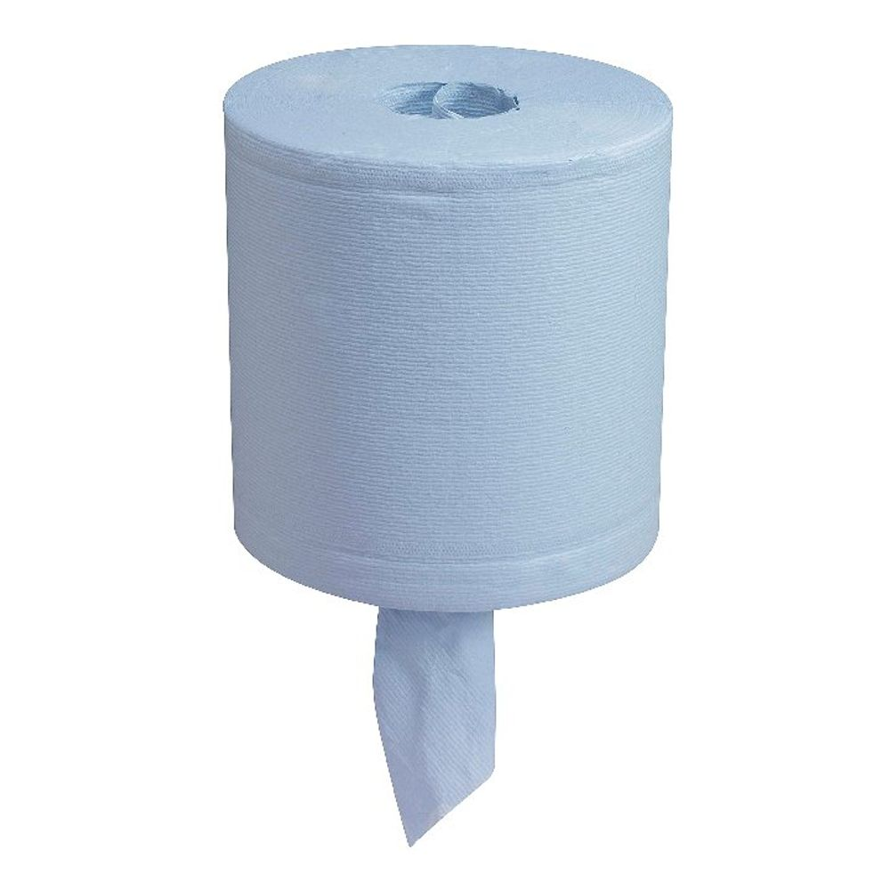 Wypall L30 Wipers Centrefeed Roll, 2-Ply, Blue - 7302