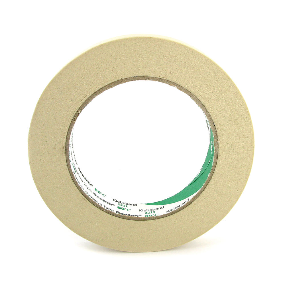 Scotch Masking Tape 19mmx25m Permanent Adhesive Remove Easily No Residue Buff 7000052052
