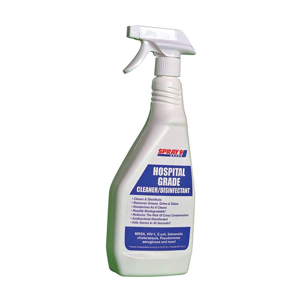 Spray 9 Hospital Grade Cleaner and Disinfectant Spray 750ml 603015