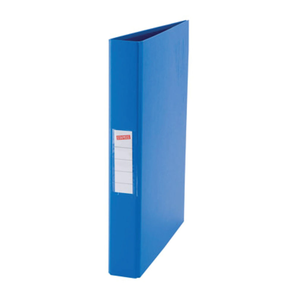 Staples Premier 4 Ring Binder A4 25mm Blue 59443STAP