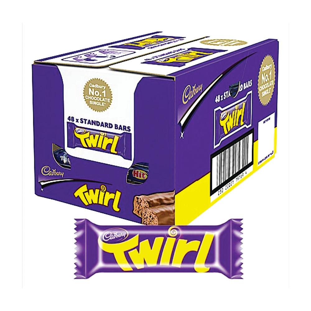 Cadbury 43g Twirl, Pack of 48 - 611498