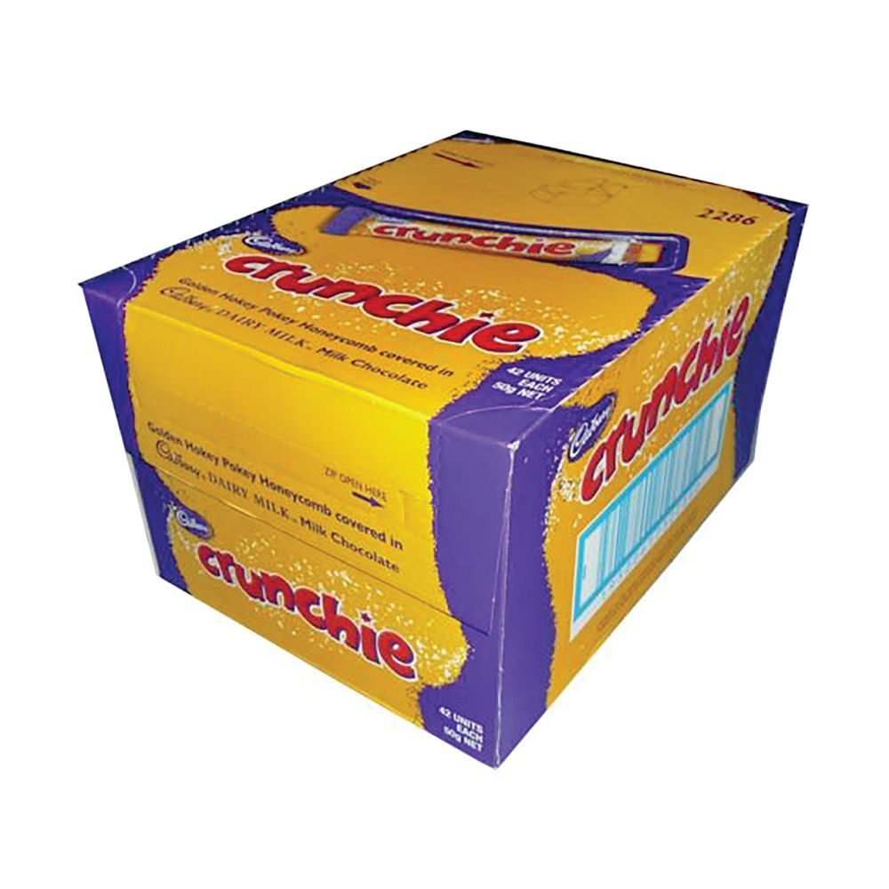 Cadbury 40g Crunchie Bars, Pack of 48 | 100140