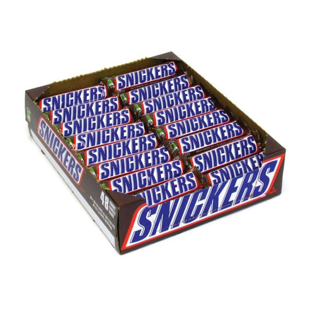 Mars Snickers Bars 48g, Pack of 48 - 100554