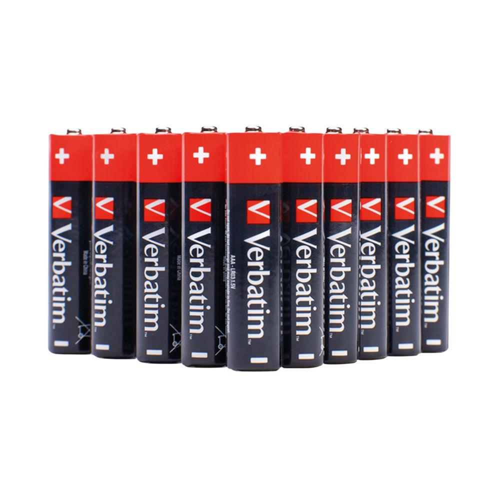 Verbatim AAA Alkaline Batteries (Pack of 24) 49504