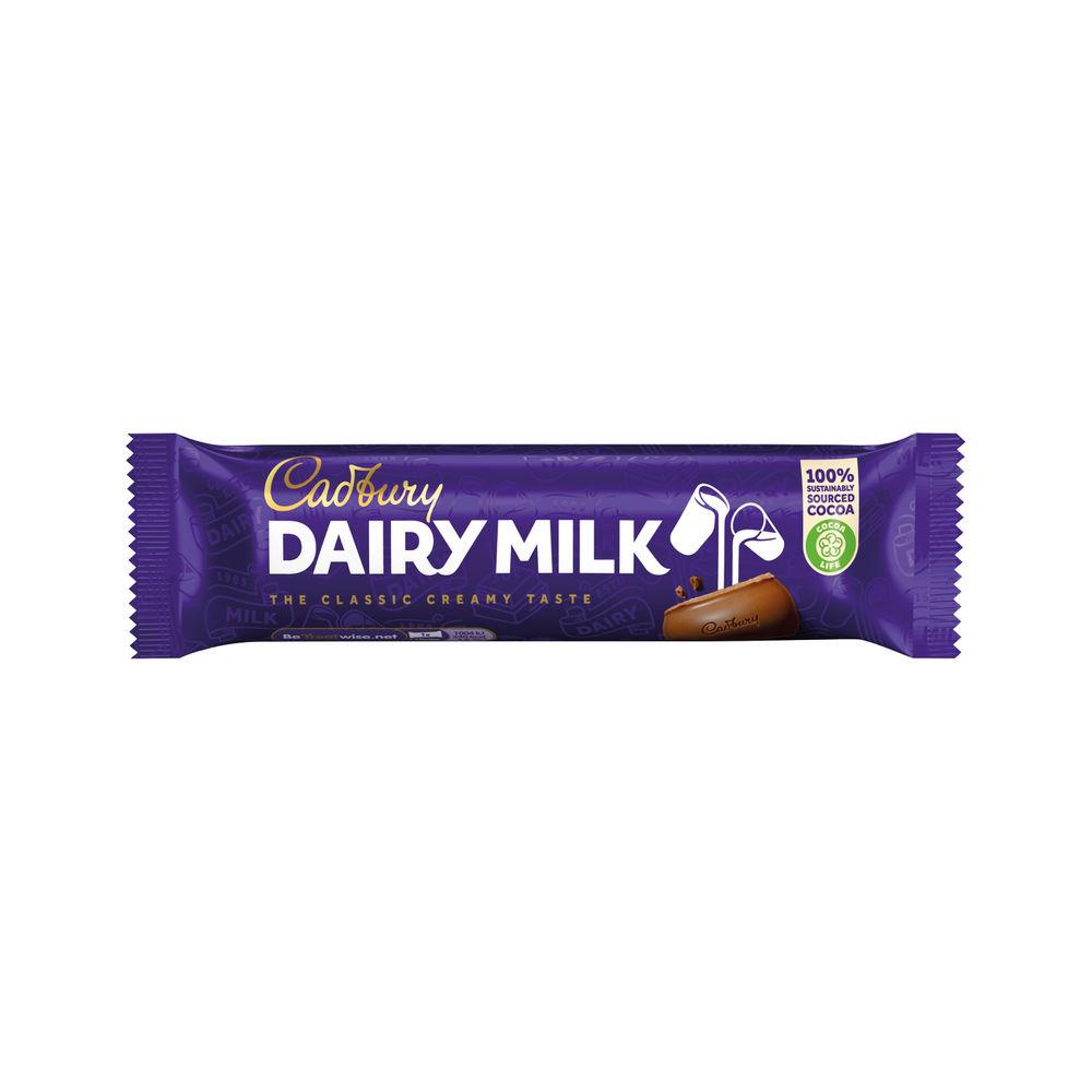 Cadbury Dairy Milk Bars 45g, Pack of 48 - 100143