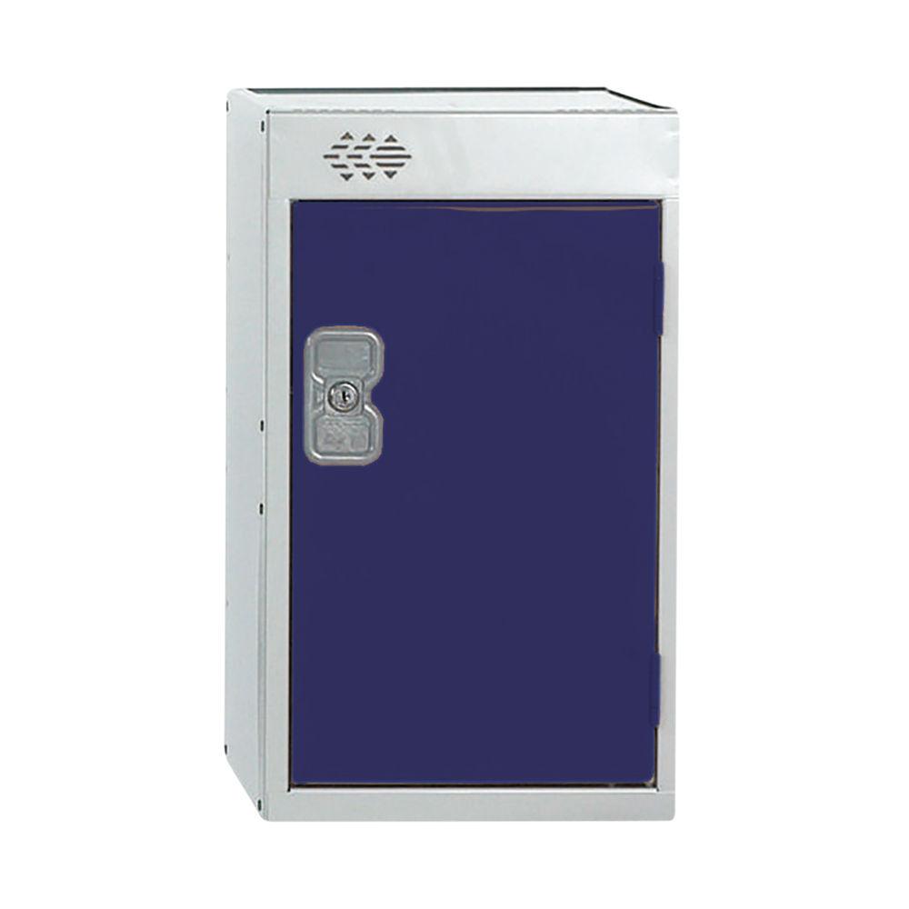 One Compartment D450mm Blue Quarto Locker - MC00079