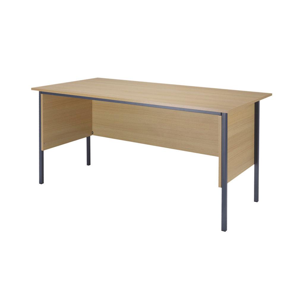 Serrion 1500mm Ferrera Oak Four Leg Desk