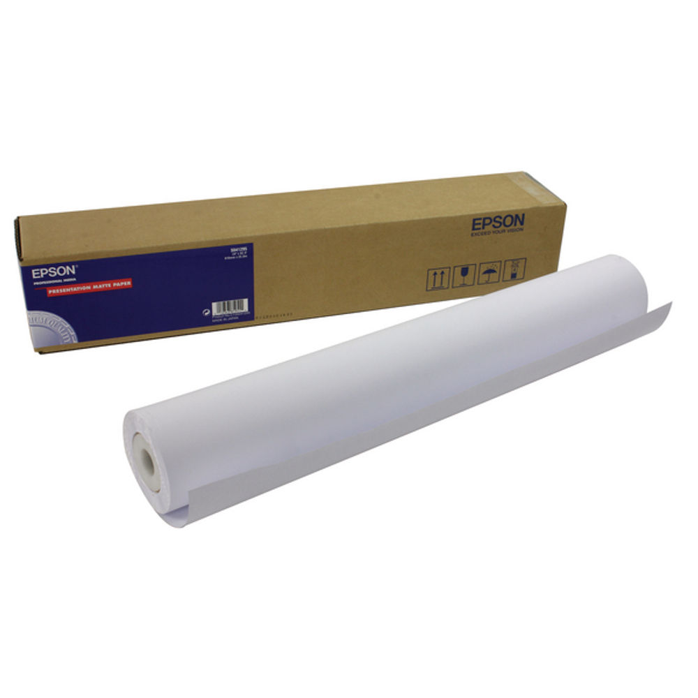 Epson Presentation Matte Paper Roll 172gsm, 24 Inches x25m -  C13S041295