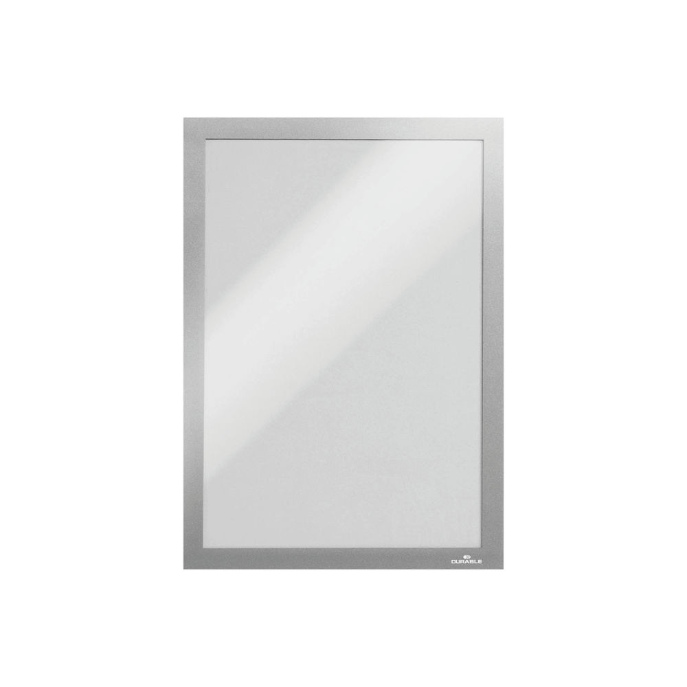 Durable Silver A4 Duraframe, Pack of 10 - 488223