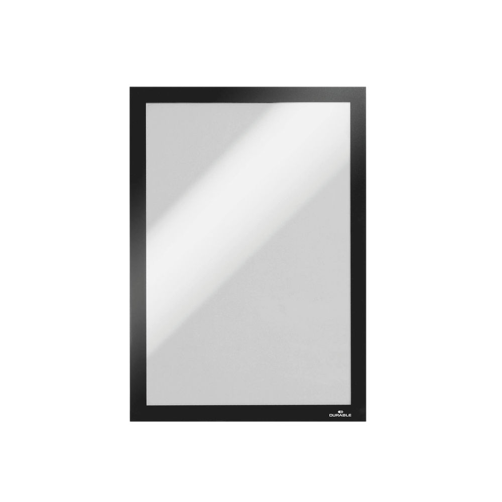 Durable Duraframe Self-Adhesive A4 Black (Pack of 10) 4882 01
