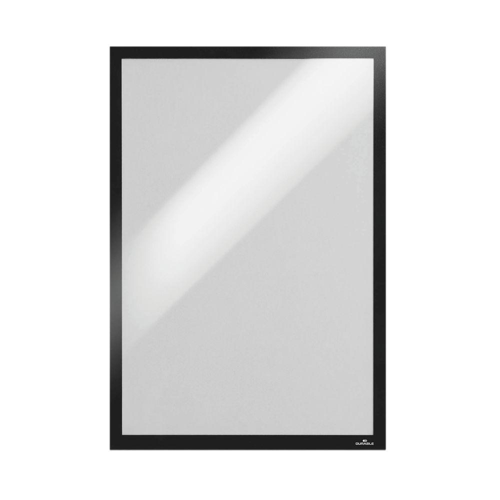 Durable Duraframe Self-Adhesive A3 Black (Pack of 2) 4873/01