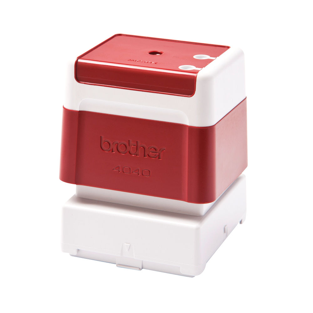 Brother PR4040R Stamp 40 x 40mm Red PR4040R6P