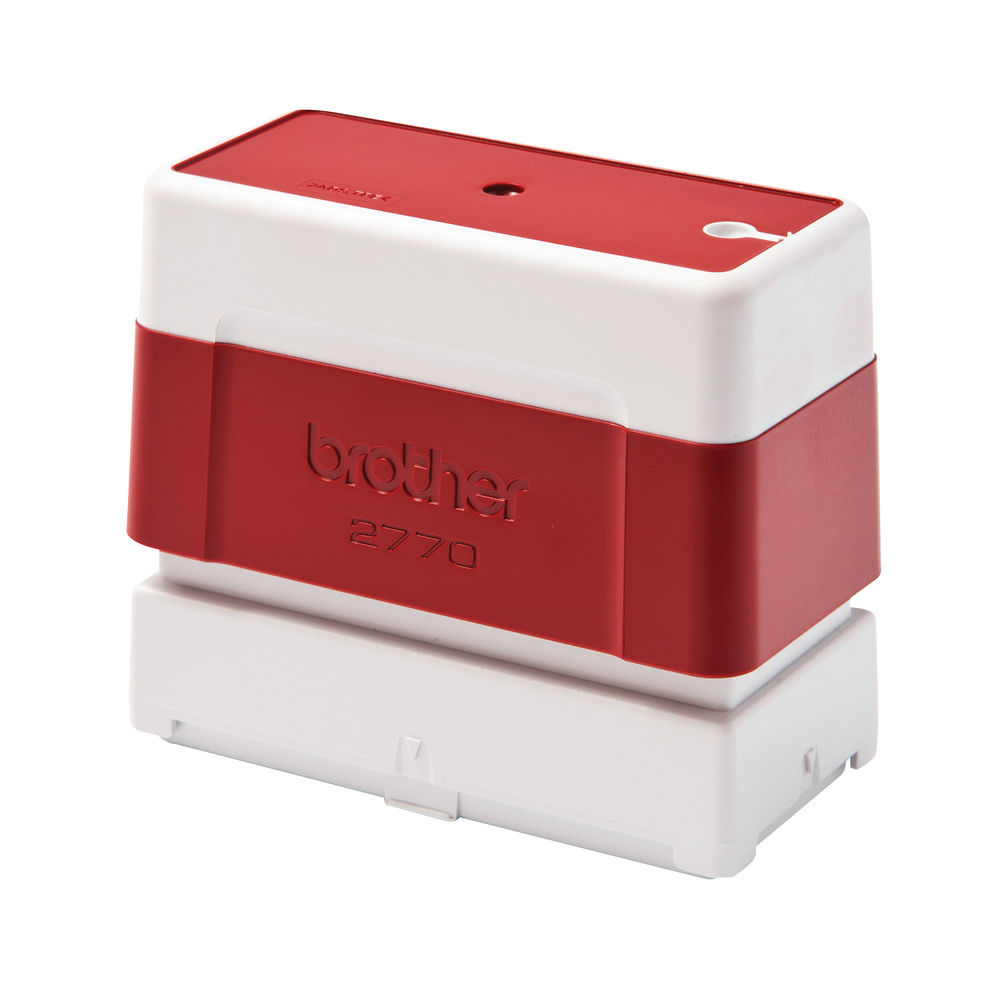 Brother PR2770R Stamp 70 x 27mm Red (Pack of 6) PR2770R6P