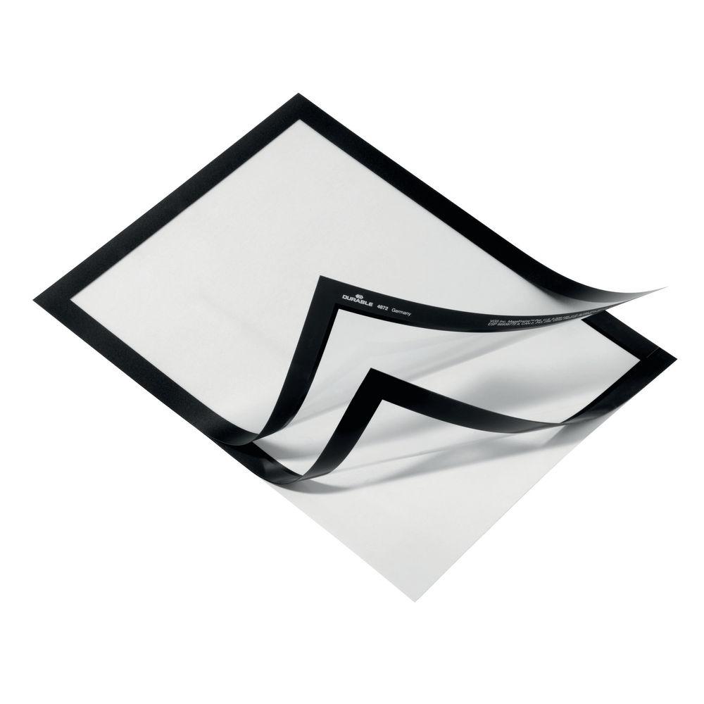 Duraframe Black A4 Self Adhesive Frames, Pack of 10 - 4882 01