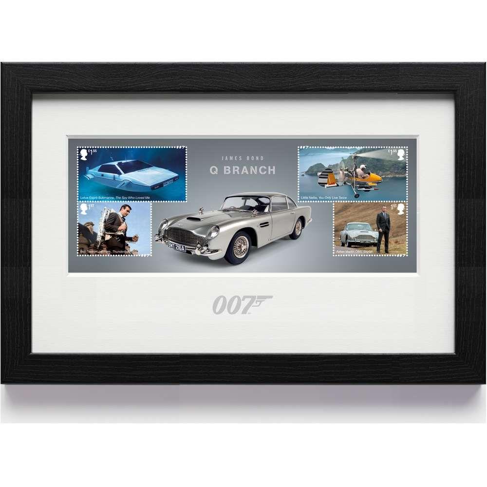 The James Bond Framed Miniature Sheet