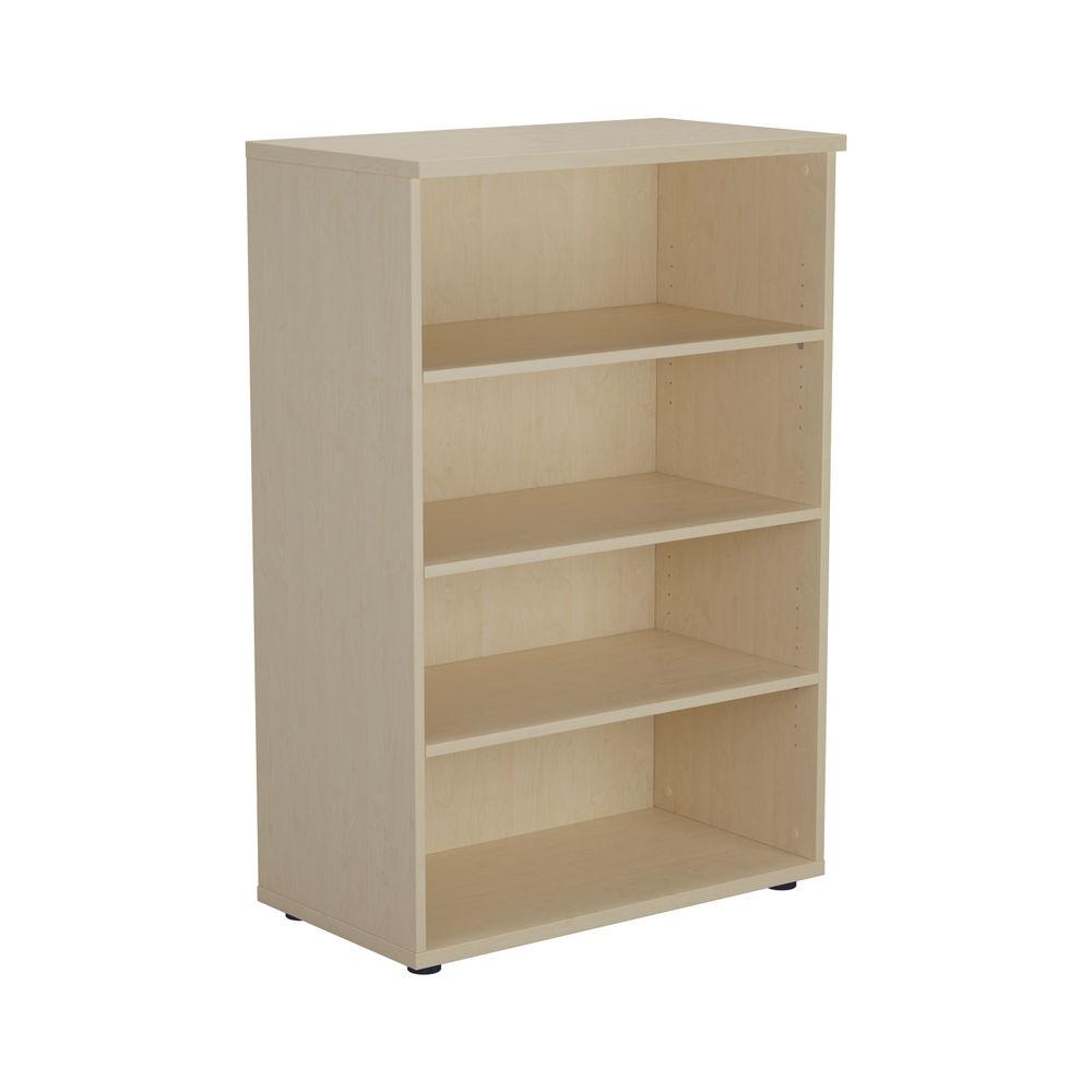Jemini 1600 x 450mm Maple Wooden Bookcase