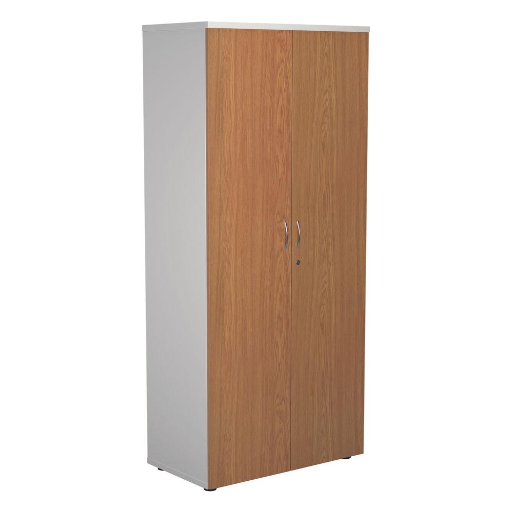 Jemini 1800 x 450mm White/Nova Oak Wooden Cupboard