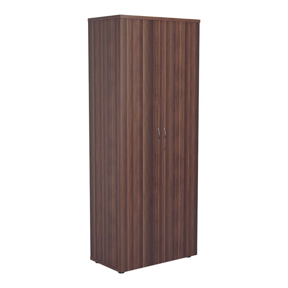 Jemini 2000 x 450mm Dark Walnut Wooden Cupboard