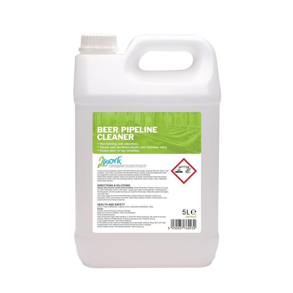 2Work Beer Pipeline Cleaner 5 Litre - 302