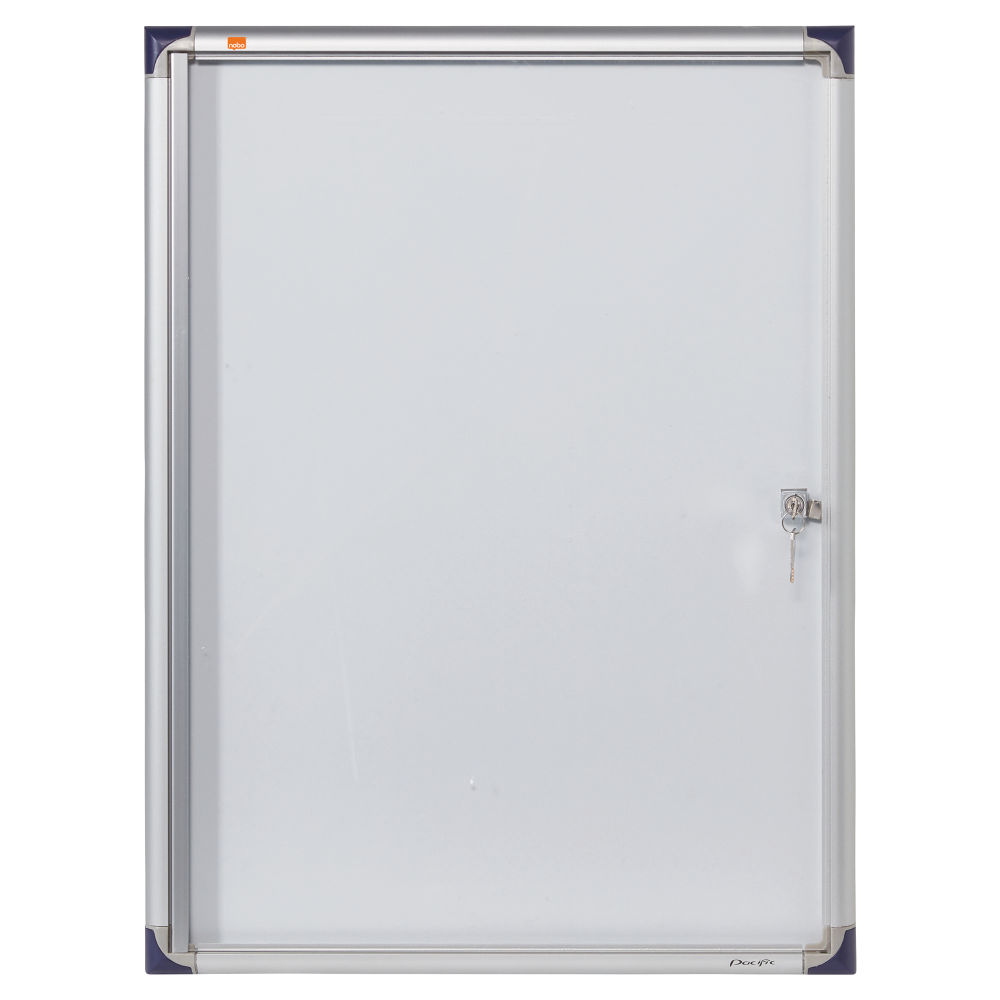 Nobo 4 x A4 Extra Flat Glazed Magnetic Display Case - 1900846