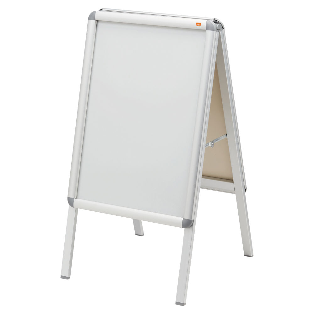 Nobo Premium Plus A2 A-Board Sign Holder with Snap Frame 1902207