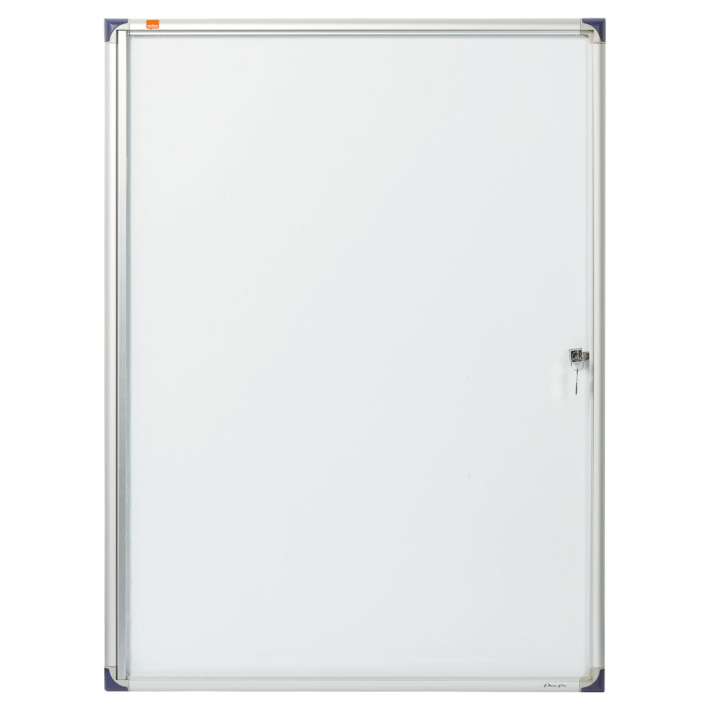 Nobo 9 x A4 Extra Flat Glazed Magnetic Display Case - 1902282