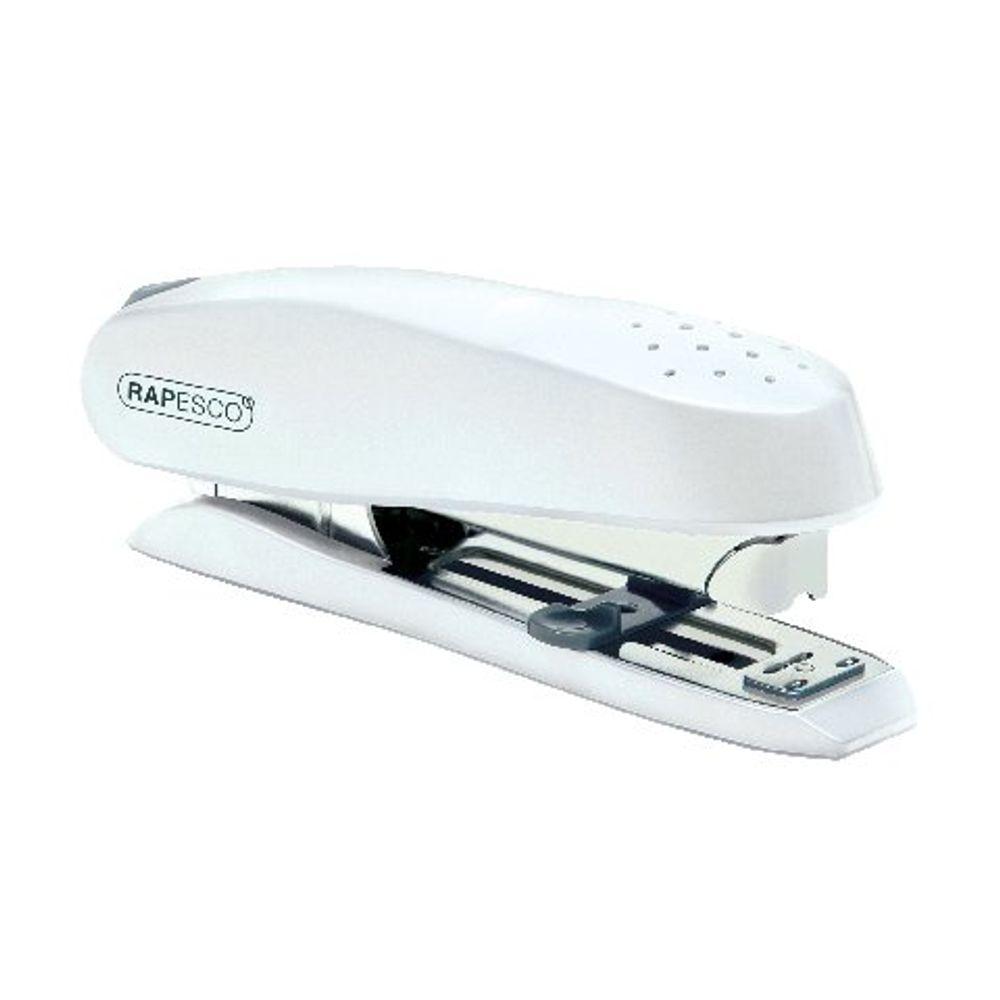 Rapesco ECO Spinna Heavy Duty Stapler Capacity 50 Sheets White 1390