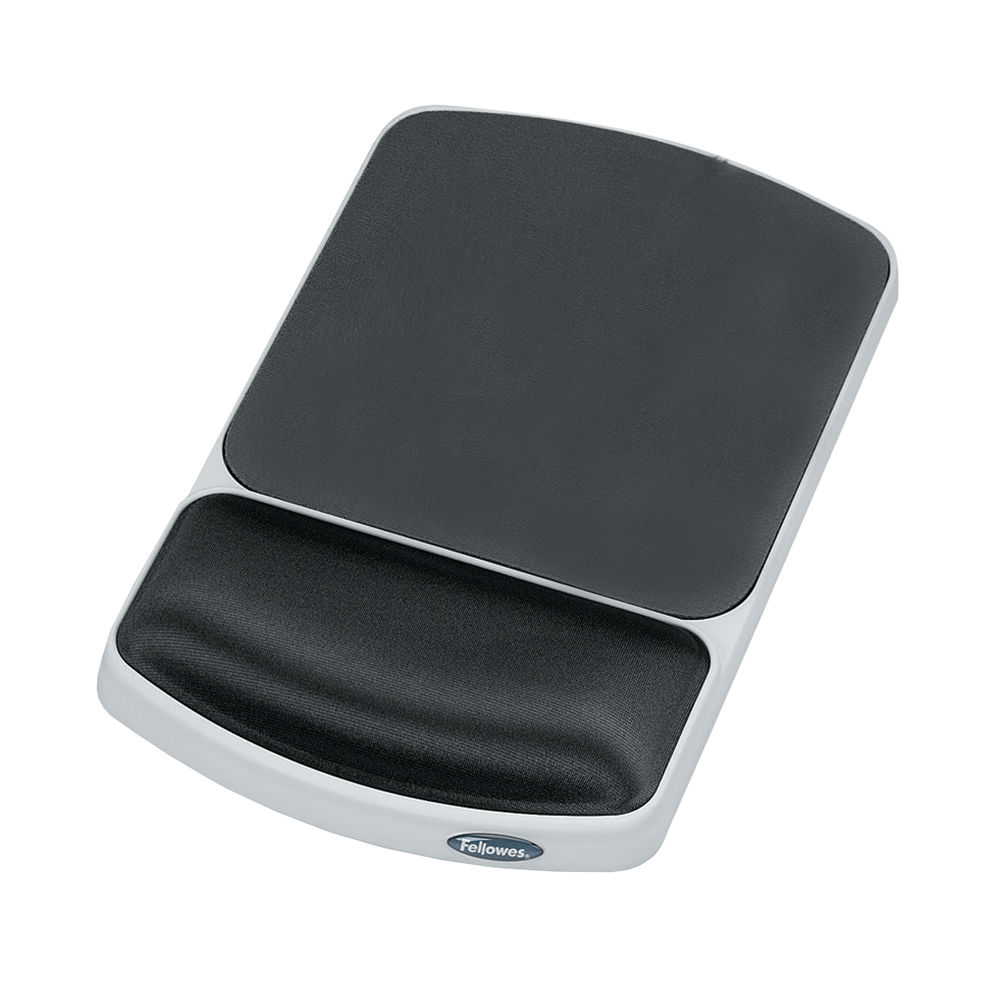 Fellowes Premium Gel Mouse Pad and Wrist Support - 91741