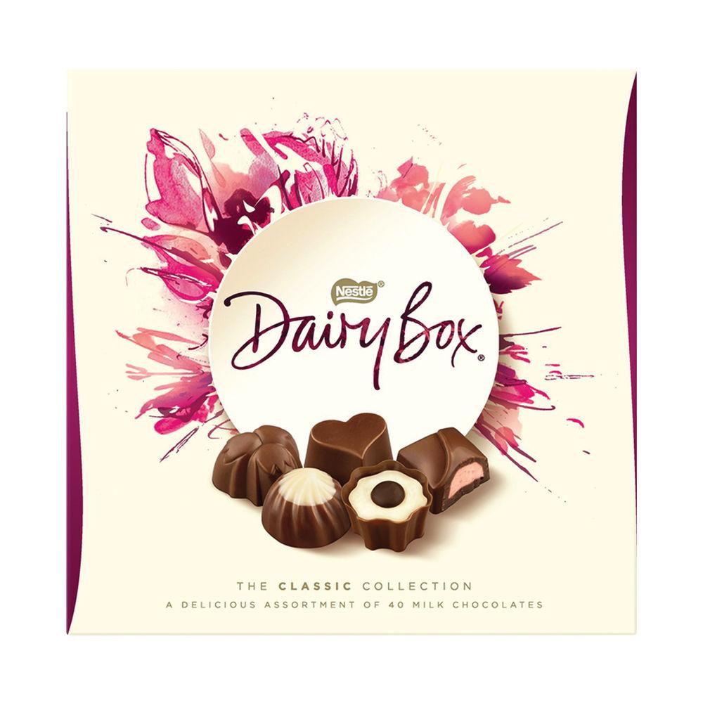 Dairy Box Milk Chocolate Assortment Box 360g