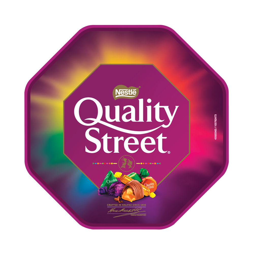 Quality Street Chocolate Toffee & Cremes Tub 650g